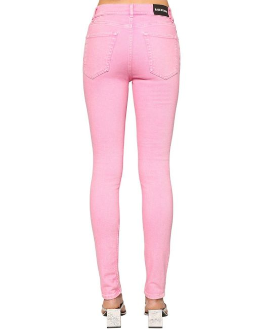 Balenciaga ストレッチデニムスキニージーンズ Pink