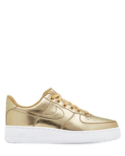 Кроссовки Air Force 1 Sp Nike, цвет: Metallic