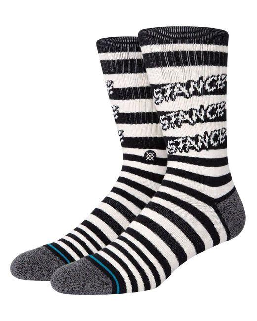 Stance Socken Aus Baumwollmischgewebe in Black für Herren