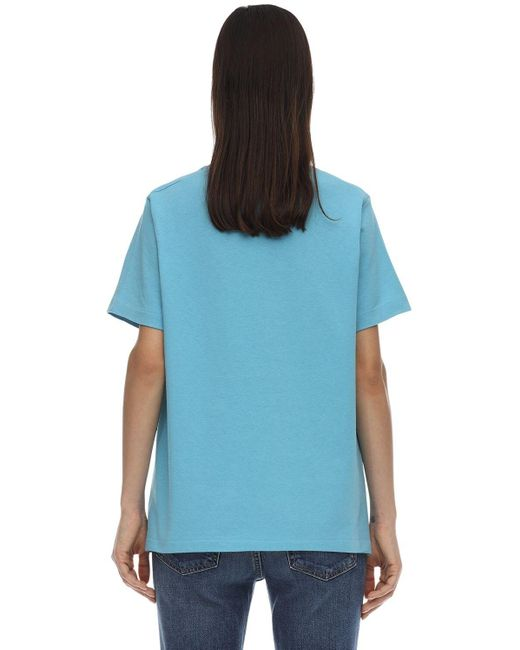 Gucci Mickey Mouse ジャージーtシャツ Blue