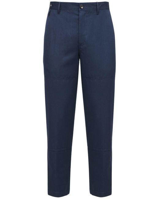 メンズ Lanvin ウールパンツ 18cm Blue