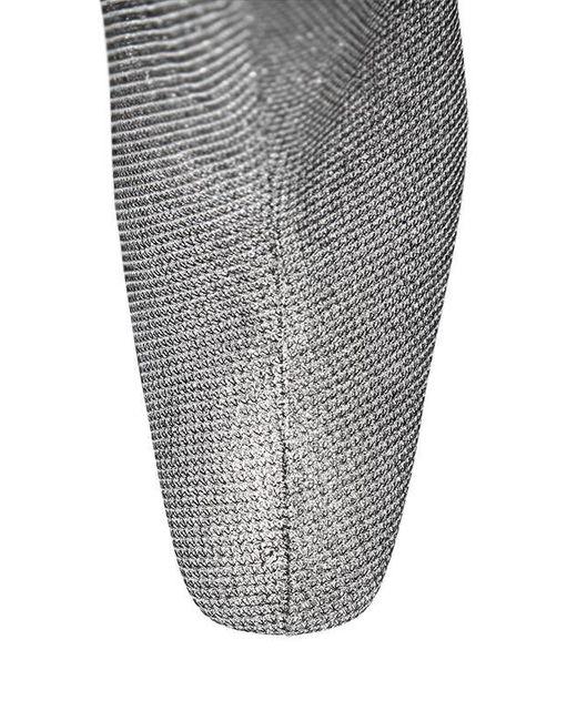 Women's Metallic 90mm Glitter Fabric Ankle Boots