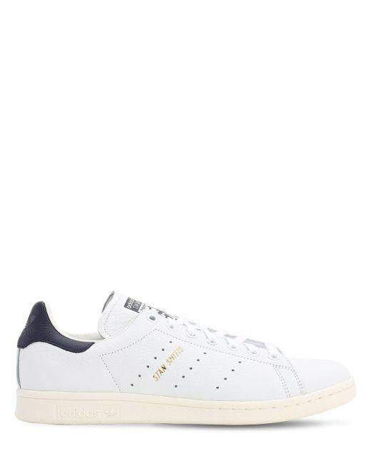 Adidas Originals Stan Smith レザースニーカー White