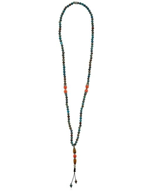 Cantini Mc Firenze | Blue Beaded Necklace | Lyst