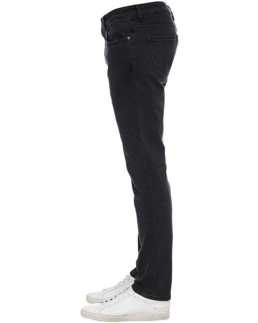 メンズ Htc Los Angeles スリムデニムジーンズ 17.5cm Black