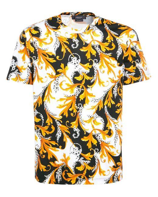 Versace Multicolor Printed T-shirt for men