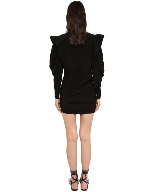 Étoile Isabel Marant Catarina ビスコースミニドレス Black