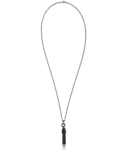 Henson | Black Horn Necklace for Men | Lyst