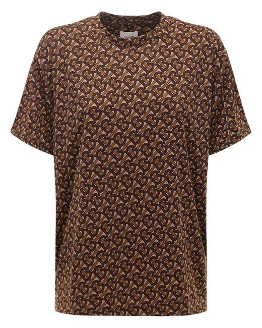 Burberry テクノtシャツ Brown
