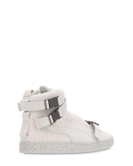 ... Puma Select - Gray The Weeknd Suede Classic Sneakers for Men - Lyst ... d1636719e