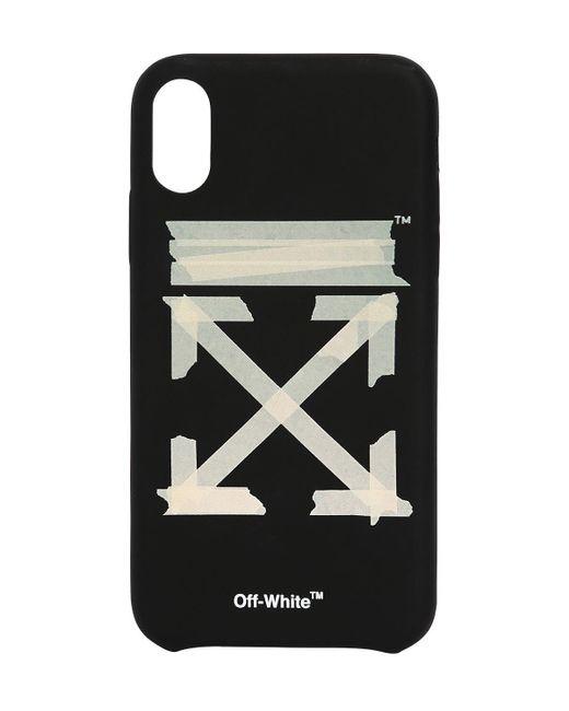 メンズ Off-White c/o Virgil Abloh Arrows Iphone X/xsカバー Black