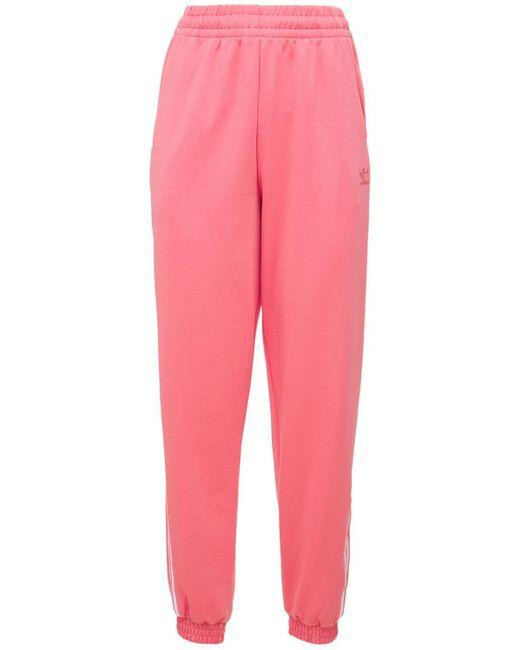 Pantaloni Con Logo di Adidas Originals in Pink