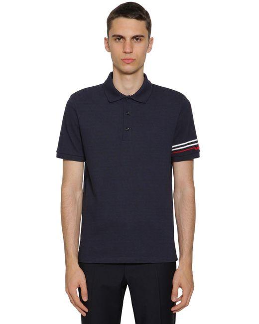 メンズ Valentino ポロシャツ Blue