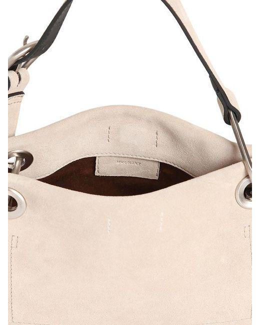 Calvin Klein BELTED SUEDE SHOULDER BAG hpiW0c