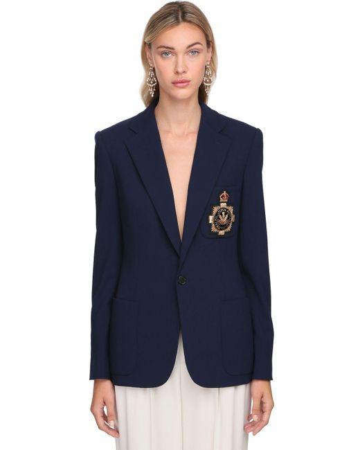 Ralph Lauren Collection ウールブレンドジャケット Blue