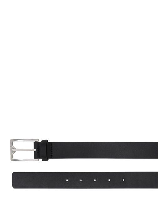 メンズ Bottega Veneta レザーベルト 3cm Black