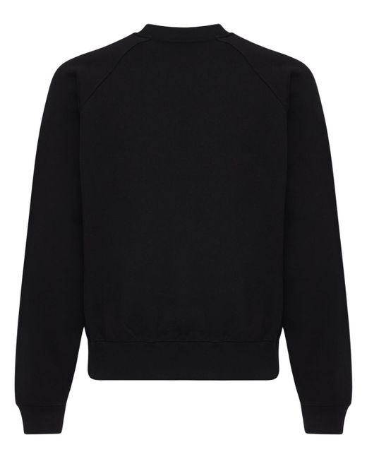 メンズ Versace コットンスウェットシャツ Black