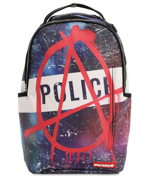 c1d62fb22 Sprayground - Multicolor Anarchy Printed Backpack for Men - Lyst ...