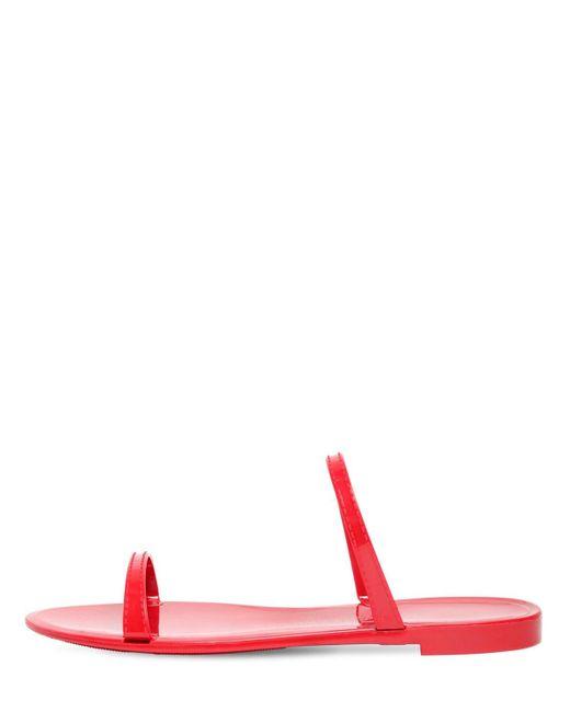 Резиновые Шлёпанцы Sawyer 10mm Stuart Weitzman, цвет: Red