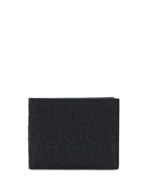 Кошелек-бумажник С Логотипами Ferragamo для него, цвет: Black