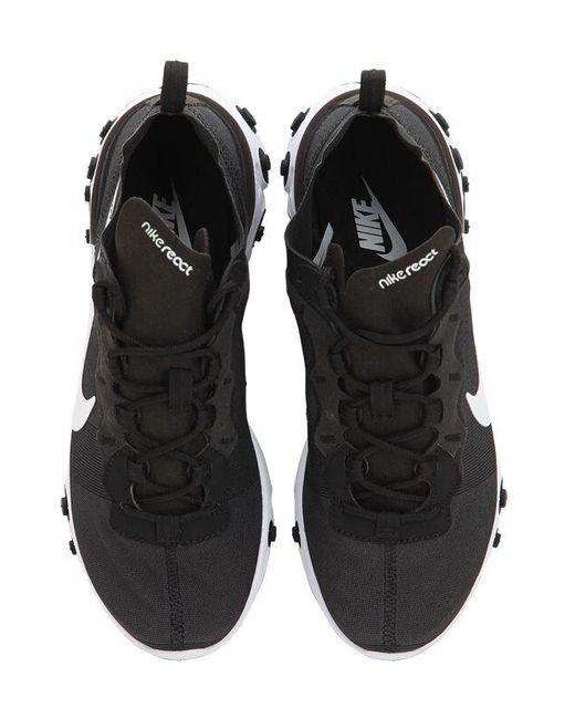 Nike React Element 55 スニーカー Black