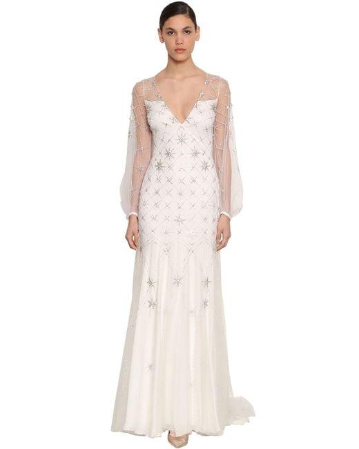 Temperley London Celeste ロングドレス White