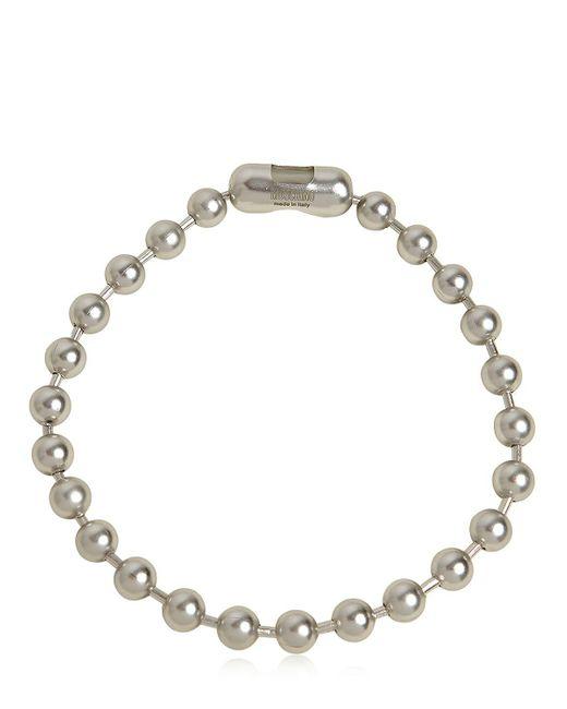 Moschino | Metallic Metal Beads Choker | Lyst