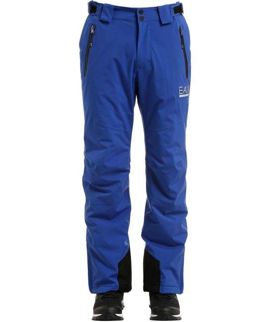 "Pantalones De Esquí ""mountain"" EA7 de hombre de color Blue"