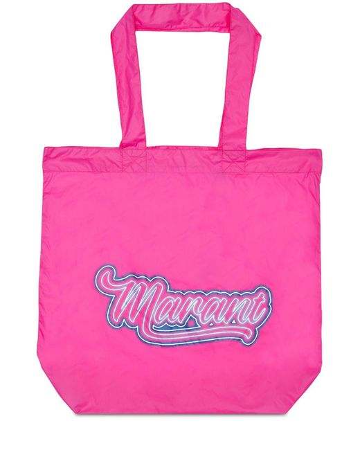 Isabel Marant Woom ナイロントートバッグ Pink