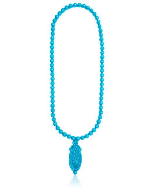 Mariah Rovery - Blue Colar Camafeu Necklace - Lyst