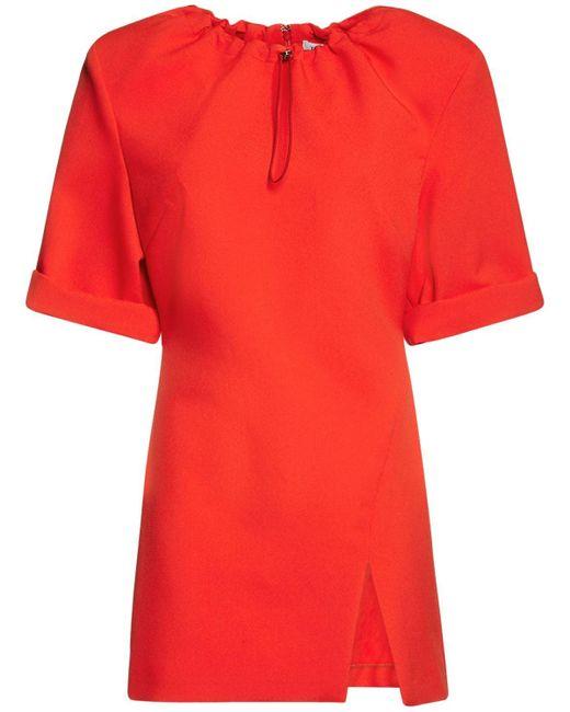 The Attico テクノミニドレス Orange