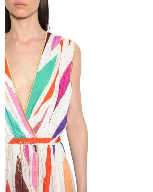 Robe En Viscose Imprimée À Capuche Missoni en coloris Multicolor