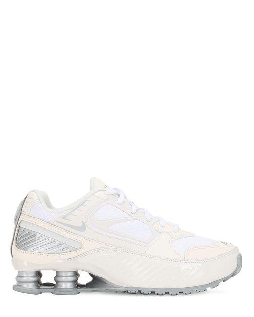 Кроссовки Shox Enigma 9000 Nike, цвет: White
