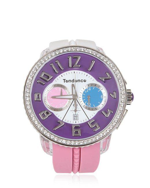Tendence Crazy Watch Purple