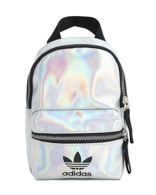 Adidas Originals メタリックナイロンバックパック Multicolor