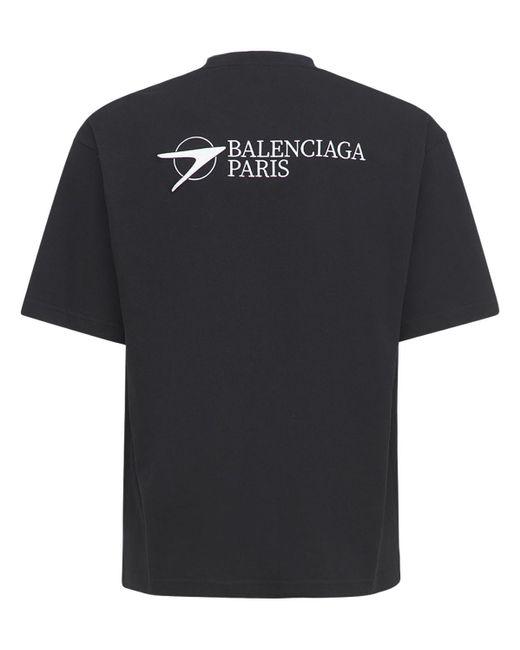 メンズ Balenciaga コットンtシャツ Black