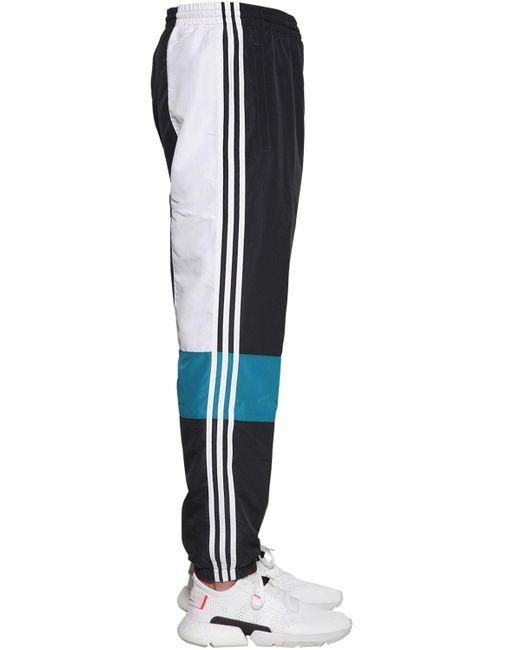 adidas Originals Synthetic Balanta Tp Nylon Track Pants in