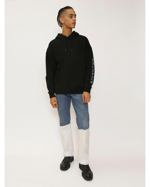 メンズ Givenchy コットンスウェットフーディー Black