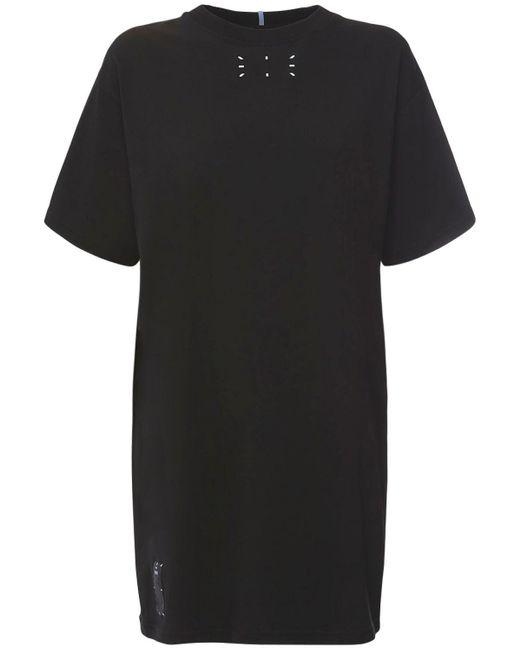 McQ Alexander McQueen Collection 0 コットンジャージーtシャツワンピース Black
