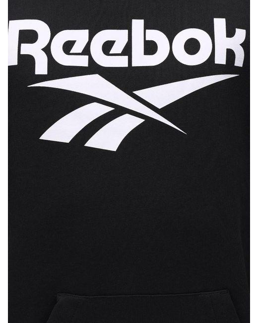 メンズ Reebok Cl F Vector ジャージースウェットフーディ Black