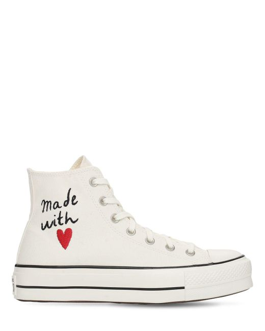"Кроссовки ""chuck Taylor All Star Lift"" Converse, цвет: White"