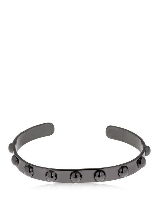 FEDERICA TOSI - Black Spike Bracelet - Lyst