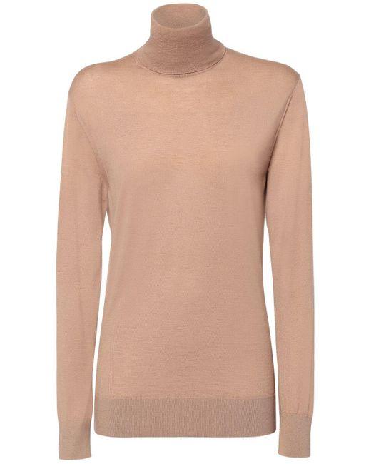 Dolce & Gabbana オーバーサイズカシミアタートルネックセーター Multicolor