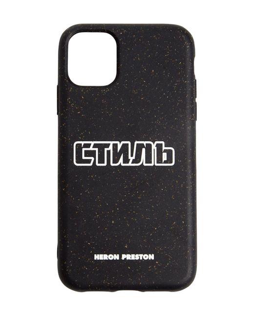 Чехол Для Iphone 11 Pro С Принтом Логотипа Heron Preston для него, цвет: Black