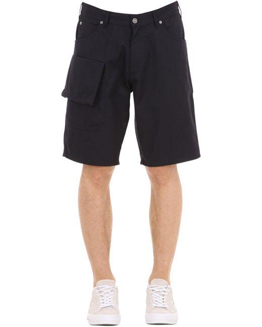 """Shorts """"le Short Gadjo"""" De Mezcla De Algodón Jacquemus de hombre de color Blue"""