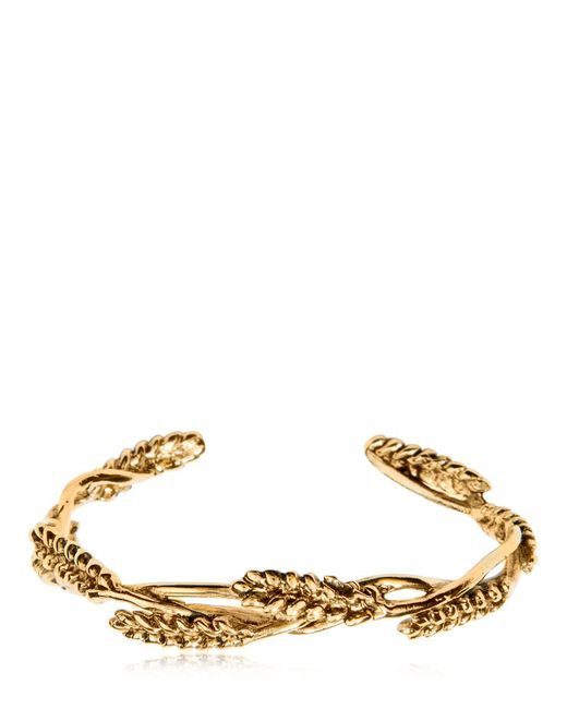 Aurelie Bidermann - Metallic Wheat Bracelet - Lyst