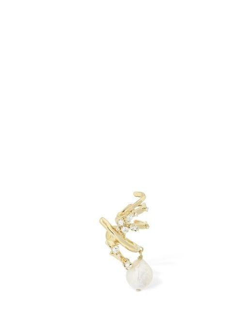 Givenchy Spiral シングルイヤーカフ Metallic