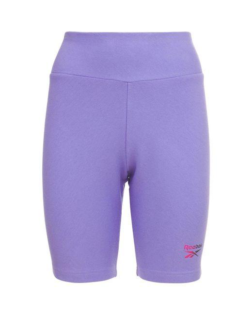Reebok Cl F Legging ショートパンツ Purple