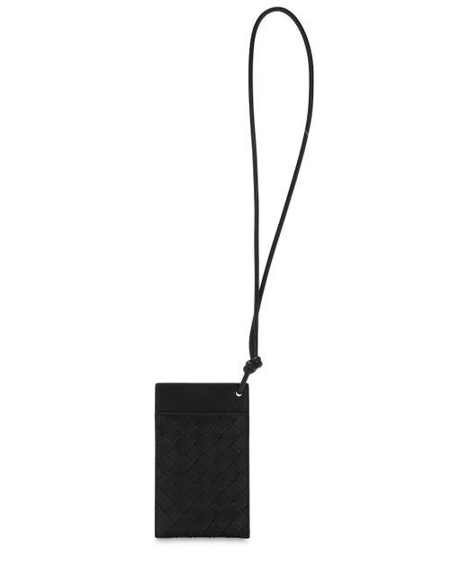 Сумка Для Телефона Intrecciato Bottega Veneta, цвет: Black