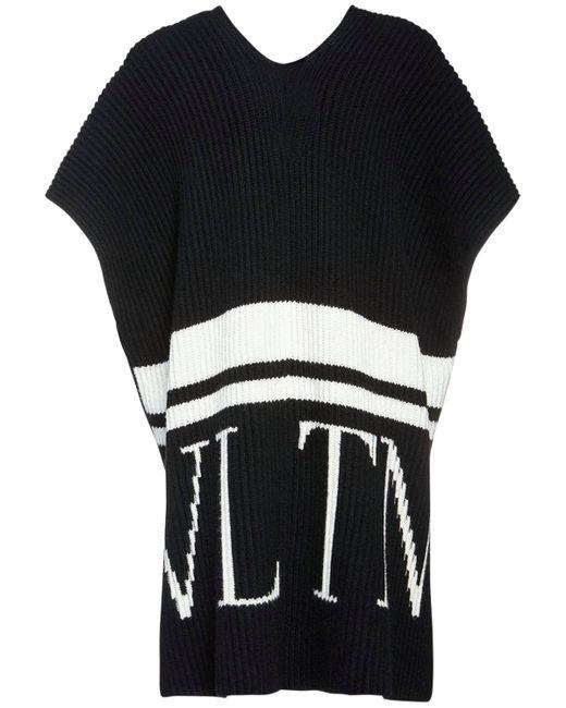 Трикотажный Свитер Vltn Valentino, цвет: Black